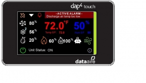 Data Aire dap4 touch screen display
