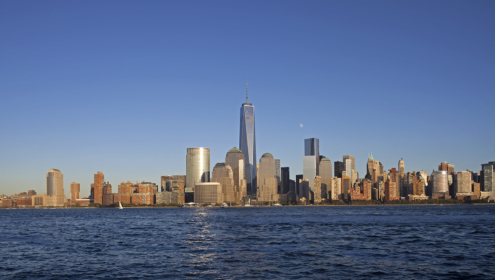 World Trade Center New York skyline